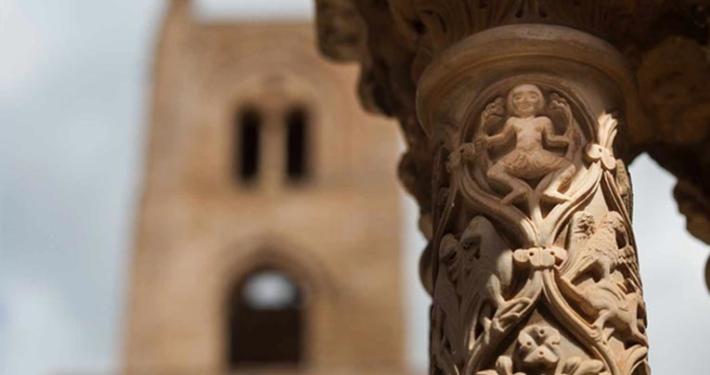 Jean Paul Barreaud | Il chiostro Benedettino di Monreale